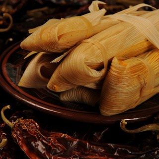 Southwest Thanksgiving Side: Chipotle Sweet Potato and Pecan Tamales
