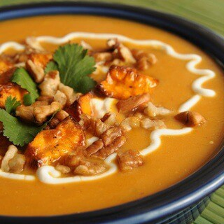 Southwest Sweet Potato Chowder
