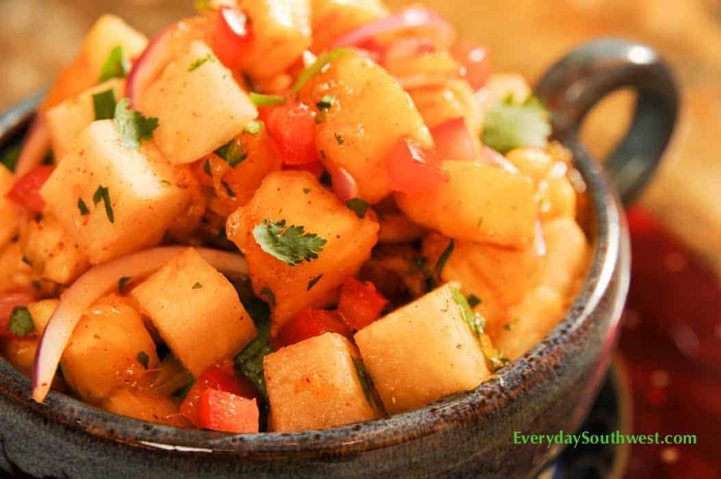 Jicama Orange Salad With Chile Lime Vinaigrette