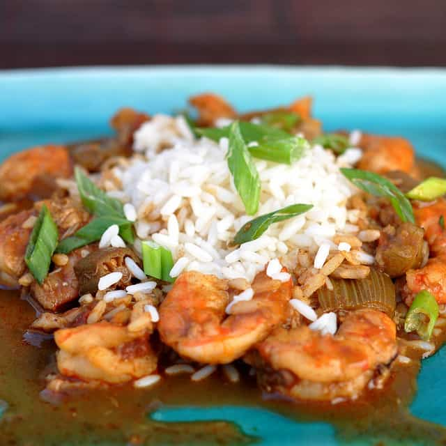 Shrimp Gumbo Recipe on a Southwest Blog? A Daring Cooks Challenge