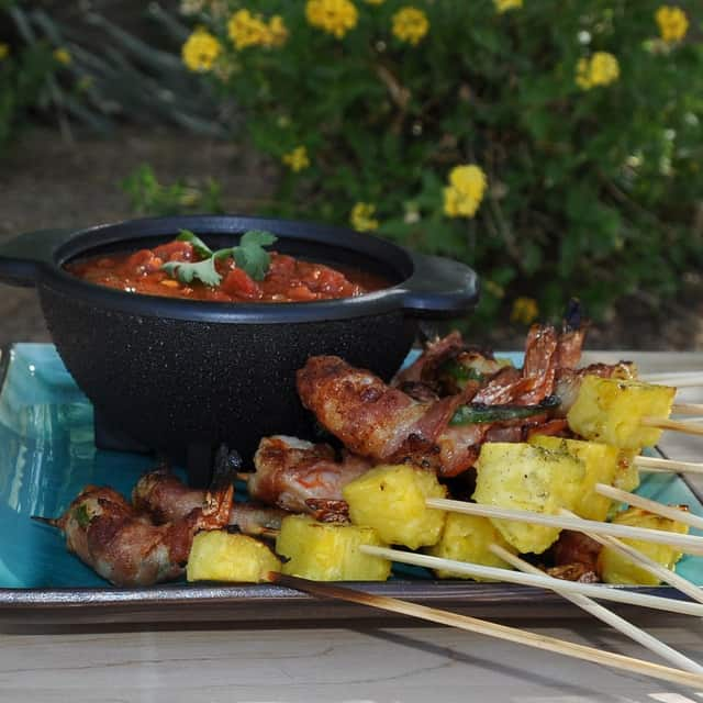 Pineapple Bowl Recipe Shrimp