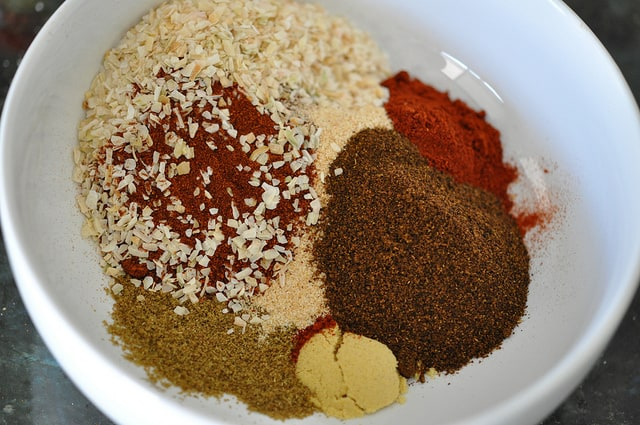 Mix the Spices for Grilled Shrimp Taco with BBQ Dry Rub Recipe