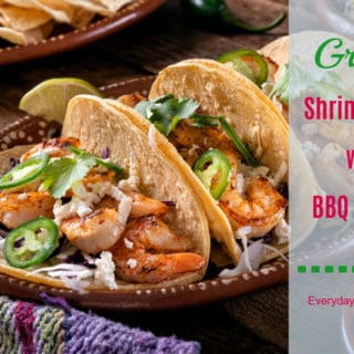 Grilled Shrimp Tacos with BBQ Dry Rub