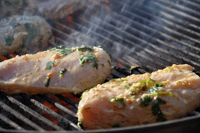Pollo Asado Chicken Recipe on the grill or Grilled Chicken on the grill