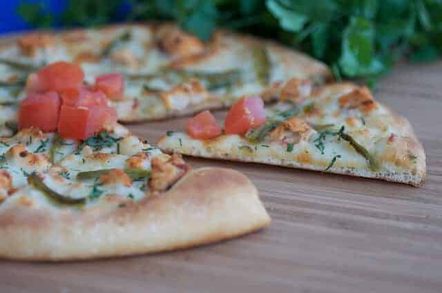 Pollo Asado Pizza Recipe or Pizza with Grilled Chicken