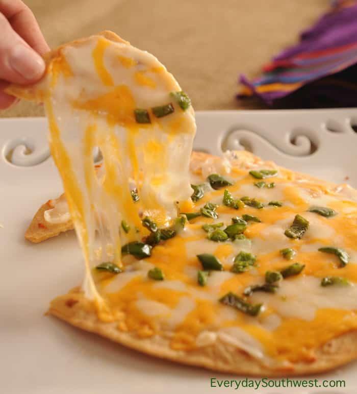 Authentic Cheese Crisps from Tucson, Arizona