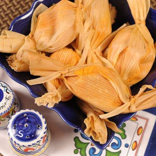 Chipotle Sweet Potato Tamales