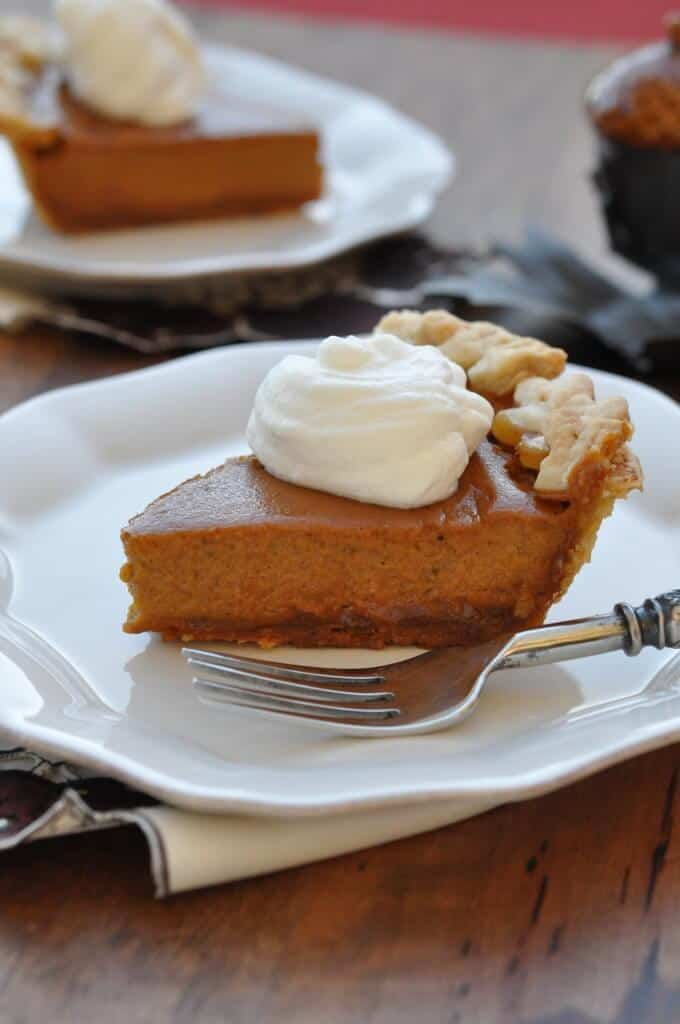 Salted Dulce de Leche Pumpkin Pie Recipe