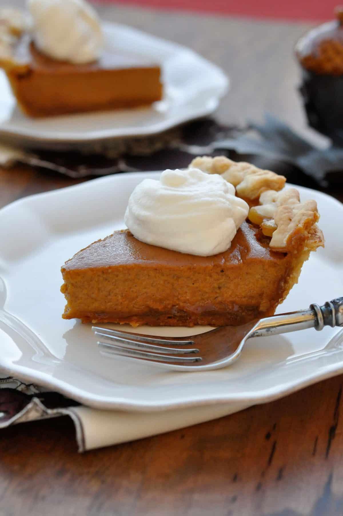 Pumpkin Pie with Dulce de Leche Recipe