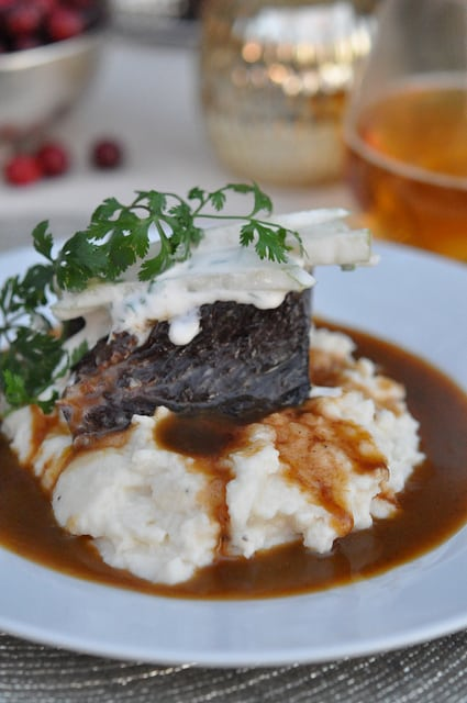 Restaurant Style Short Ribs Recipe from Wayfare Tavern