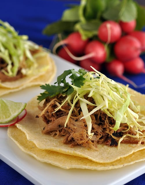 Cranberry Glazed Pork Carnitas Tacos Recipe