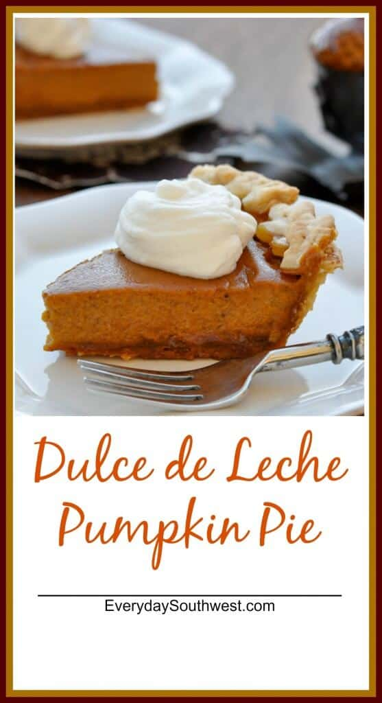Pumpkin Pie with Dulce de Leche