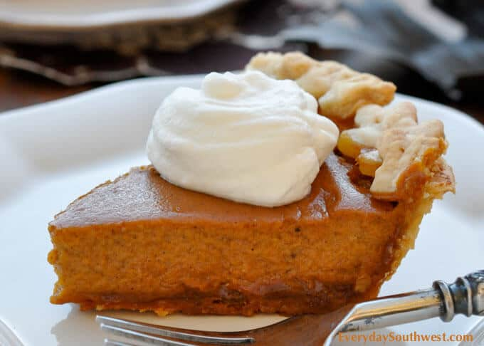 Pumpkin Pie with Dulce de Leche-H-