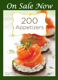 image 200 appetizers cookbook