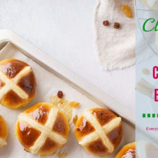 Hot Cross Buns with Candied Orange Peel