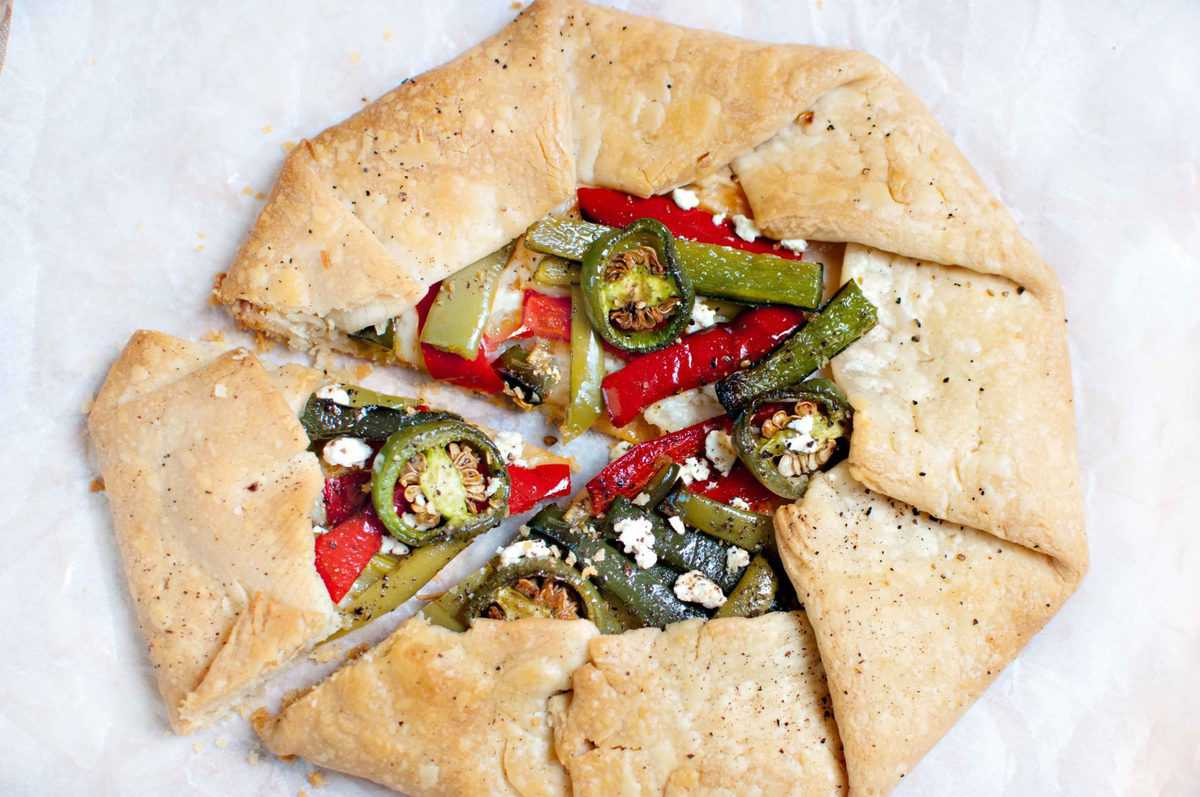 Four Peppers Galettes Recipe