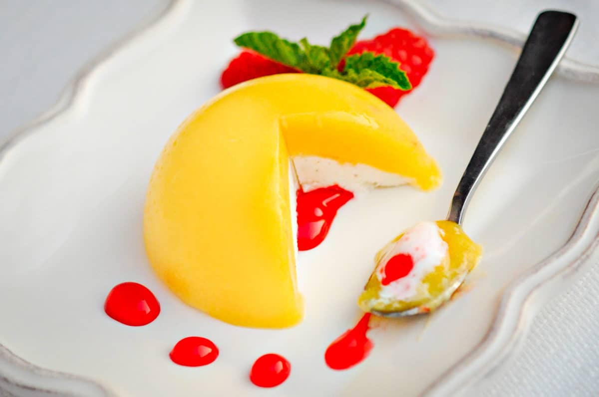 Plated Desserts Recipes http://www.everydaysouthwest.com/recipes/mango-sorbet-recipe-give-away/
