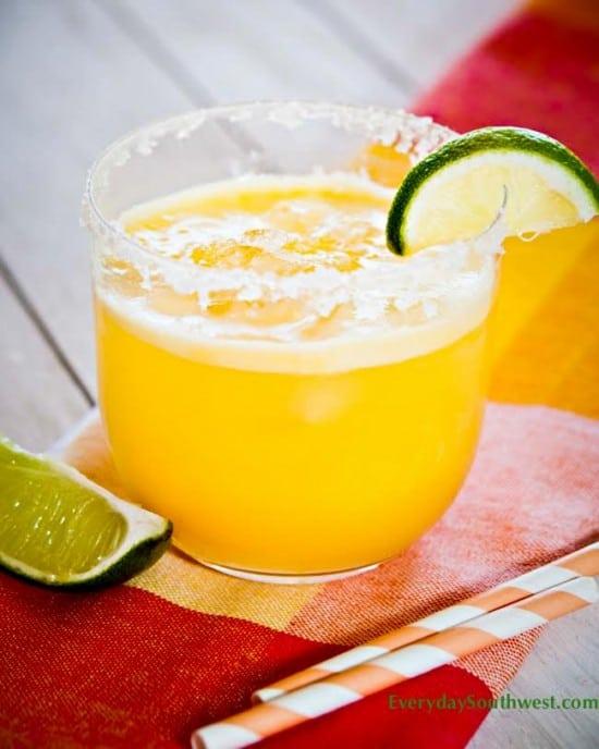 Sparkling Mango Agua Fresca