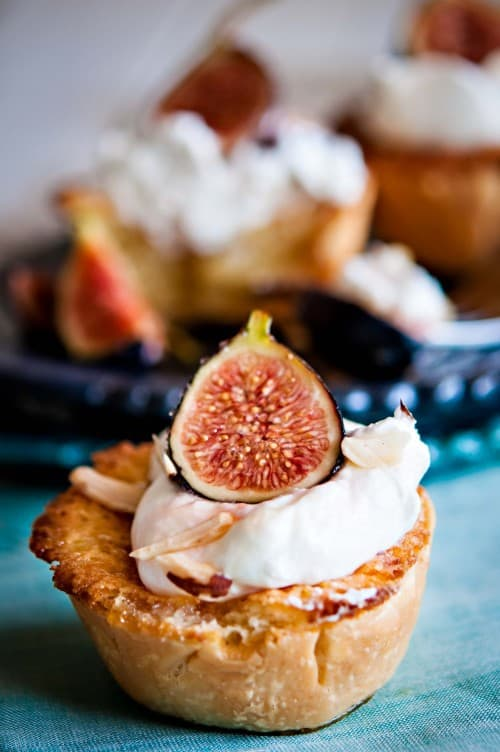 image Mini Almond Tart with Figs