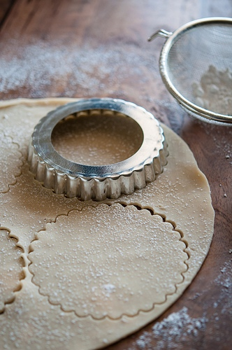 image how to roll out a pie crust