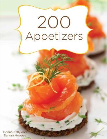 image 200 Appetizer Cookbook Cover