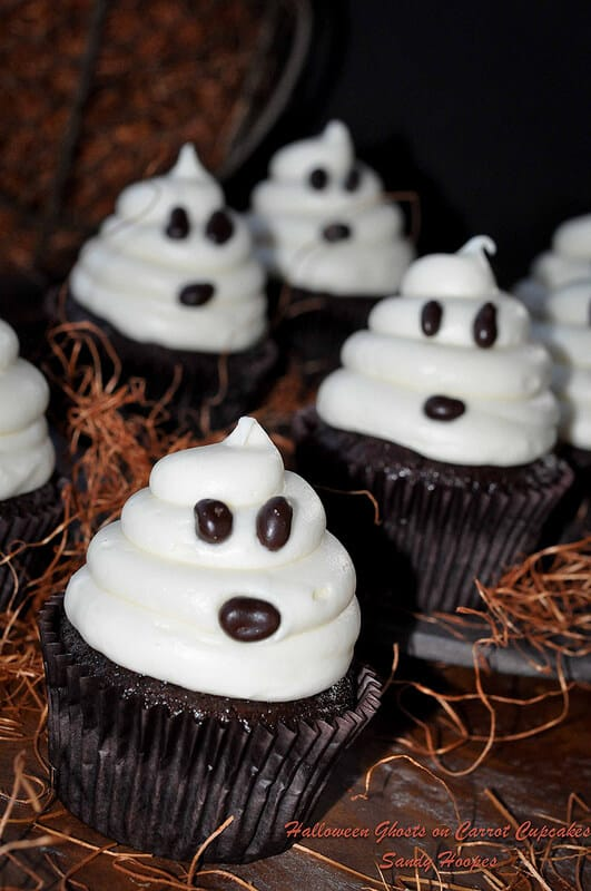 Fast and easy halloween cupcakes recipe everyday southwest Halloween cupcakes