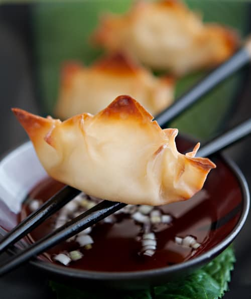 image Pineapple Cream Cheese Wontons Recipe