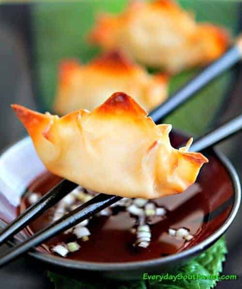 Pineapple Cream Cheese Wontons Recipe