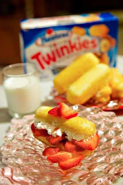 image Twinkie Strawberry Shortcake Recipe