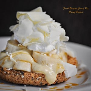 Fresh Banana Cream Pie Recipe