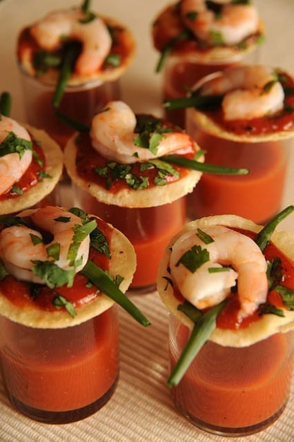 Shrimp Cocktail Taco Bites