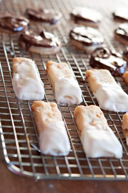 image chocolate cream cheese cookies recipe