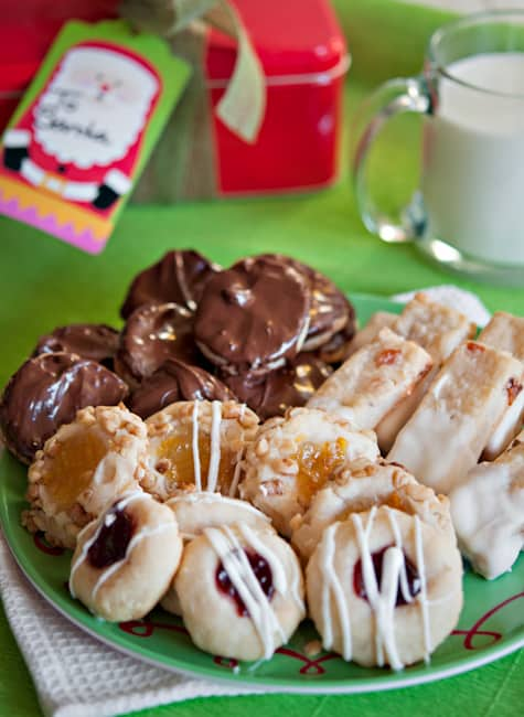image recipe cream cheese christmas cookies