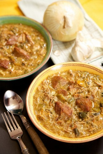 image slow cooker chile verde recipe