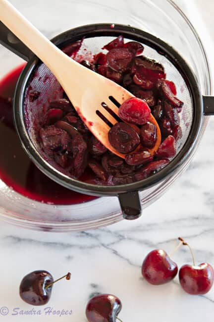 image Cherry Sauce Recipe