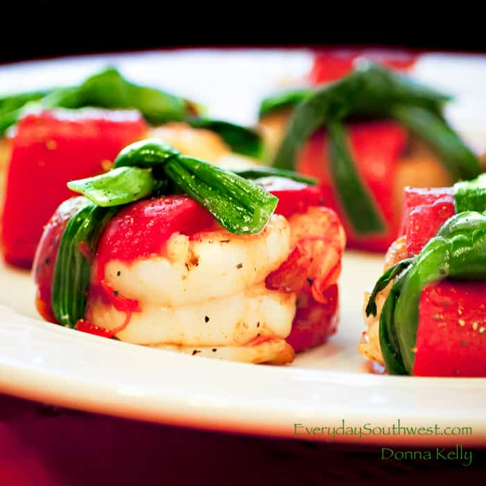 Shrimp Red Pepper Appetizer Recipe-1