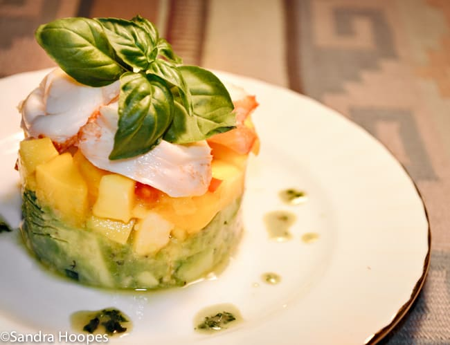 Lobster Avocado and Mango Salad Recipe
