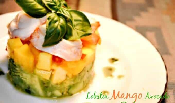 Lobster Avocado Mango Salad Recipe