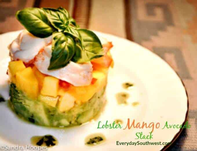 Lobster Avocado Mango Salad Recipe Everyday Southwest