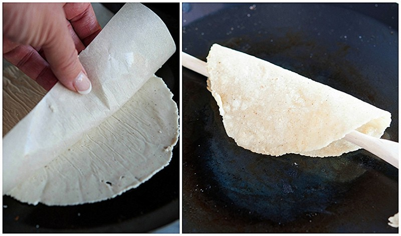 how to cook corn tortillas 7 collage