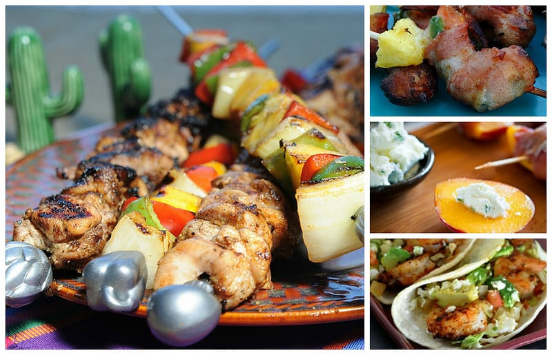 Easy Grill Recipes Kabobs Skewers