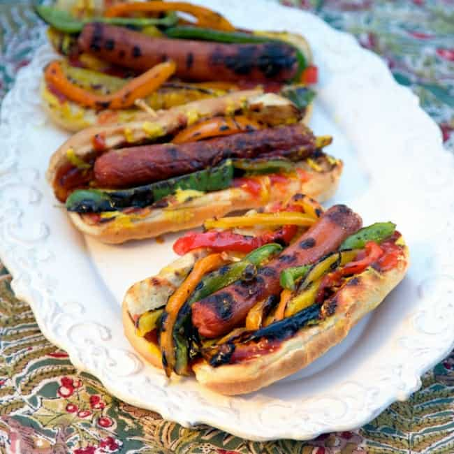 Fajita Dogs Recipe