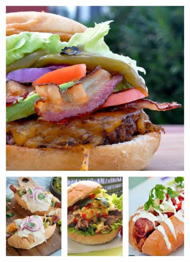 Easy Burgers and Hot Dogs Recipes
