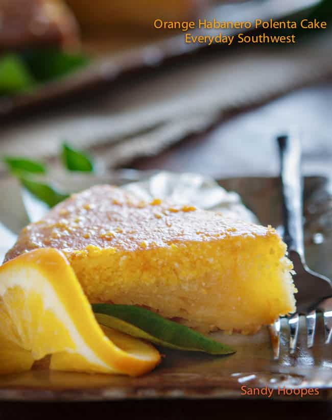 Orange Habanero Polenta Cake Recipe