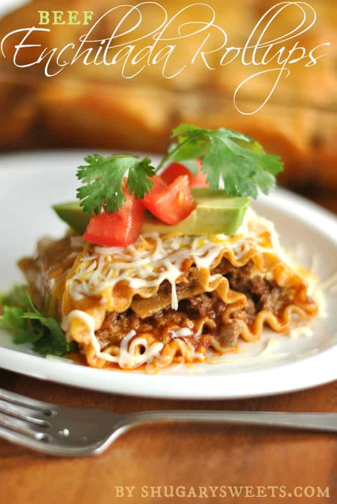 Beef Enchilada Rollups Plus Pasta Recipe Round-Up