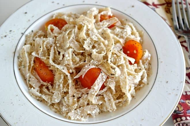 Greek Pasta with Mizithra Cheese Plus a Pasta Recipe Round-Up