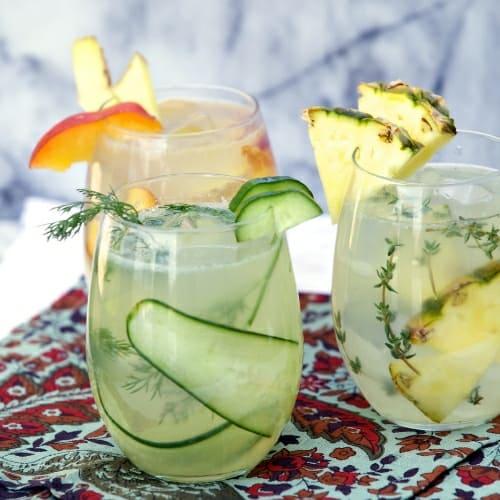 Limon Agua Frescas Recipe or Real Fruit Flavored Lemonades