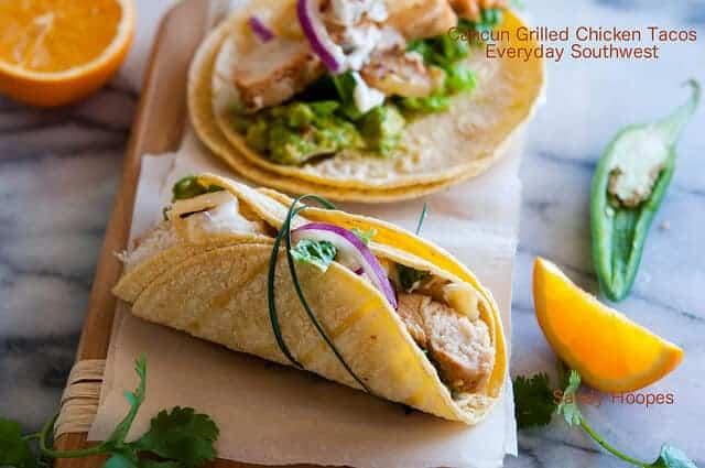Grilled Chicken Taco Recipe Citrus Chile Marinad