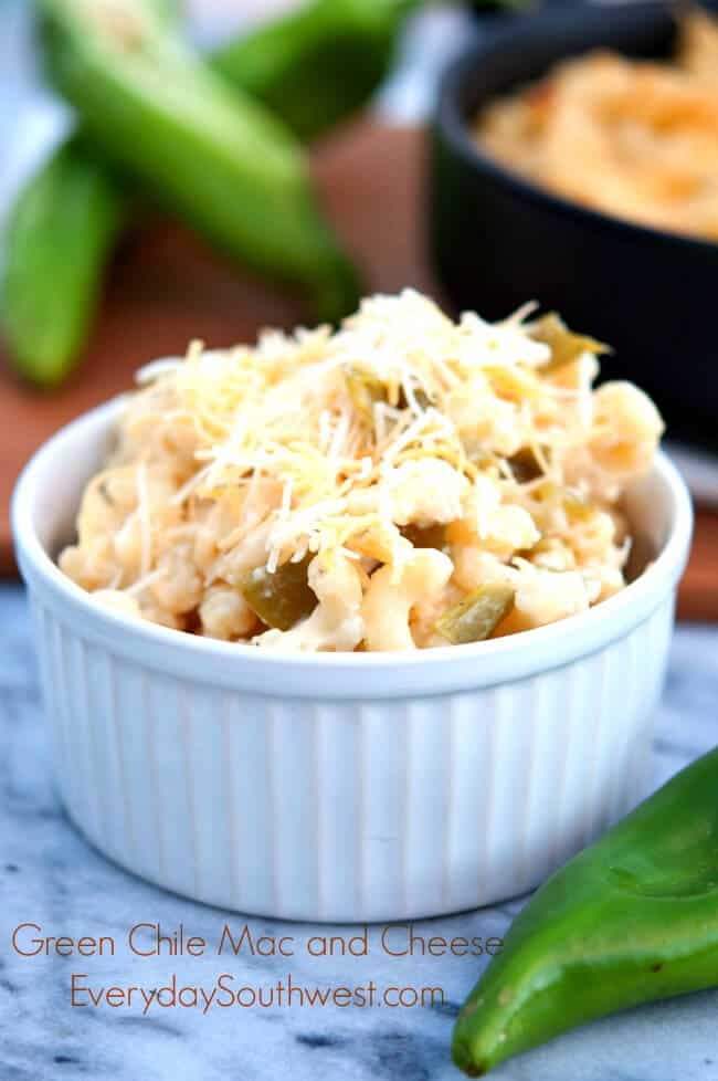 Hatch Green Chile Mac and Cheese recipe