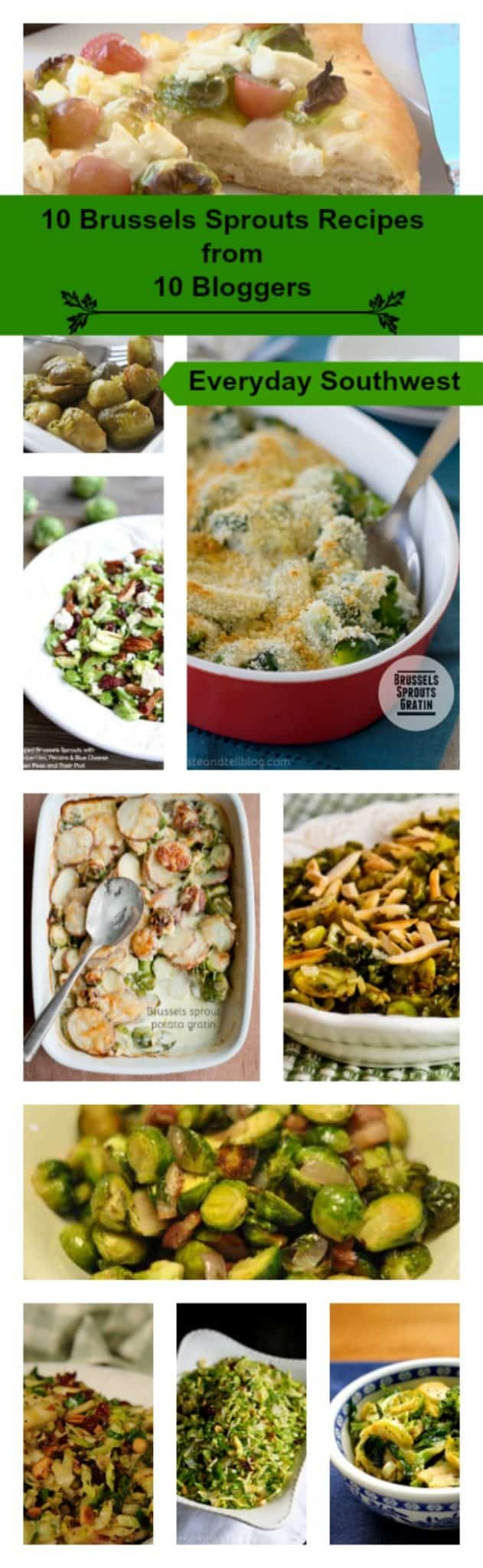 10 Brussels Sprouts Recipes with a Little Help From My Friends
